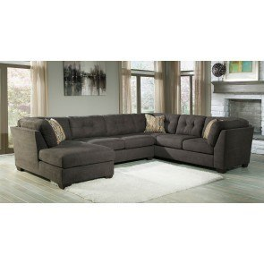 Delta City Steel Left Chaise Sectional