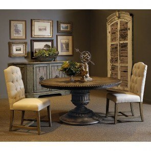Daphne Dining Room Set w/ Zoie Chairs