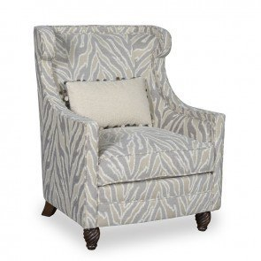 Amanda Ivory Accent Chair