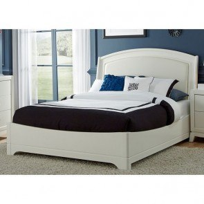 Avalon II Platform Bedroom Set w/ Upholstered Headboard
