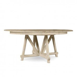 Echo Park Round Dining Table (Aged Canvas)