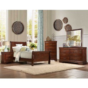 Mayville Youth Sleigh Bedroom Set