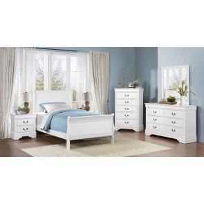 Mayville Youth Bedroom Set (White)