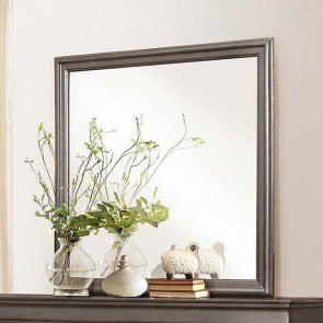 Mayville Mirror (Stained Grey)