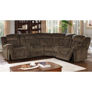 Laura Modular Power Reclining Sectional (Chocolate)