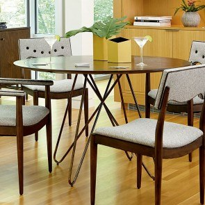 Epicenters Silver Lake Round Dining Table