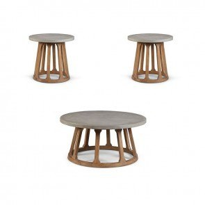 Epicenters Austin Fountainwood Occasional Table Set
