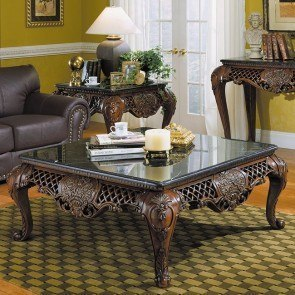 Gladstone Marble Top Occasional Table Set