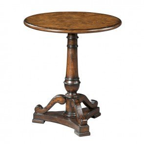 Pedestal Lamp Table