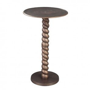 Rope Twist Post Table