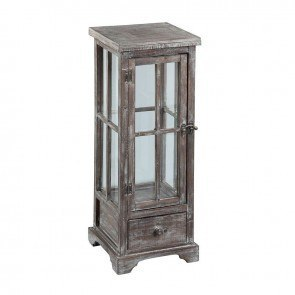 Marketplace Small Wooden Lantern Table