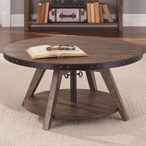 Aspen Skies Motion Cocktail Table (Brown)