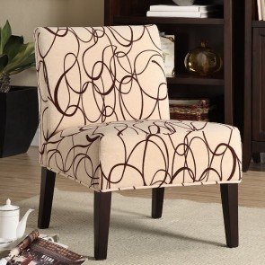 Lifestyle Armless Lounge Chair (Swirl)