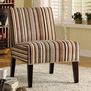 Lifestyle Armless Lounge Chair (Stripe)