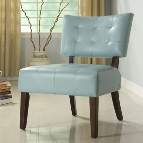 Warner Accent Chair (Sky Blue)