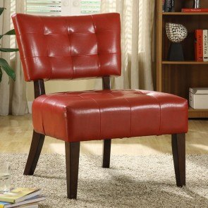 Warner Accent Chair (Lava Red)