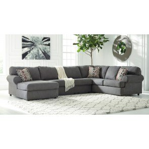 Jayceon Steel Left Chaise Sectional