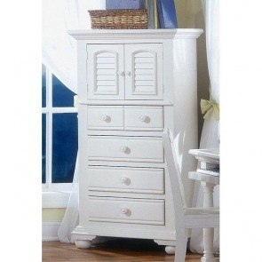 Cottage Traditions Lingerie Chest (White)