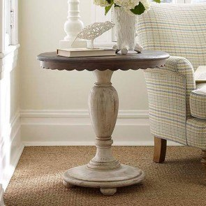 Weatherford Accent Table (Cornsilk)