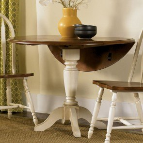 Low Country Drop Leaf Dining Table (Sand)