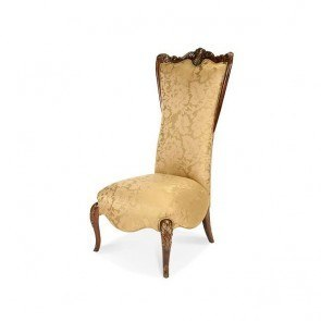Imperial Court High Back Wood Trim Chair (Citrus)