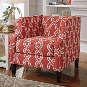 Sansimeon Coral Accent Chair