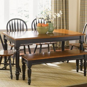 Low Country Rectangular Dining Table (Black)
