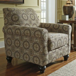 Breville Burlap Accent Chair