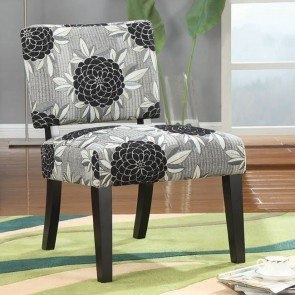 Accent Chair (Big Flowers)