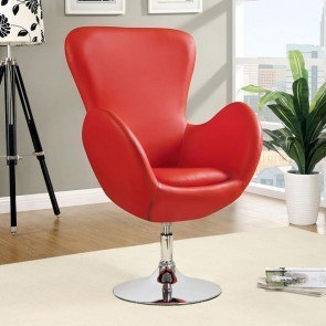 Swivel Leisure Chair (Red)