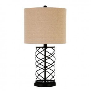 Twisted Table Lamp