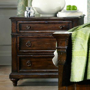 Charleston Place Three Drawer Nightstand