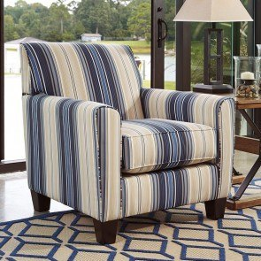 Ayanna Nuvella Indigo Accent Chair