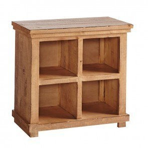 Willow 32 Inch Height Bookcase (Distressed Pine)