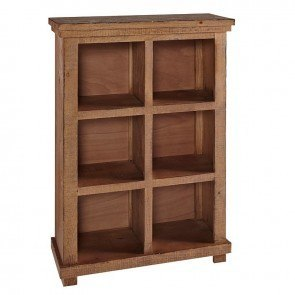 Willow 48 Inch Height Bookcase (Distressed Pine)