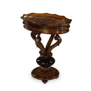 Discoveries Oval Accent Tray Table