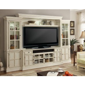 Charlotte Entertainment Wall w/ 72 Inch Console