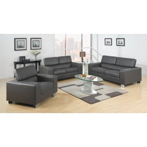 Makri Living Room Set (Gray)