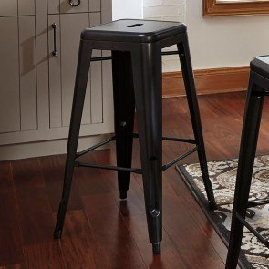Pinnadel Metal Bar Stool (Set of 4)