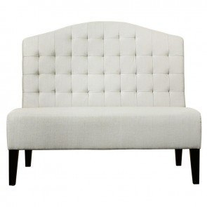 Upholstered Banquette (Tuxedo Ivory)