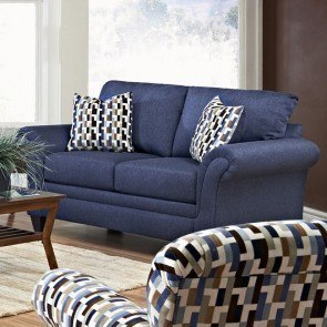 Hubbard Loveseat (Incline Naval)