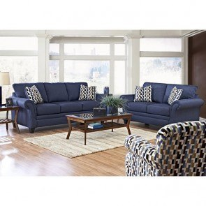Hubbard Living Room Set (Incline Naval)