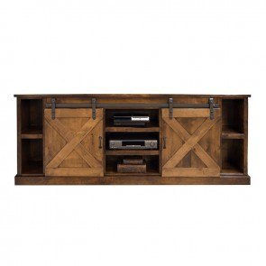 Farmhouse 85 Inch TV Console (Aged Whiskey)