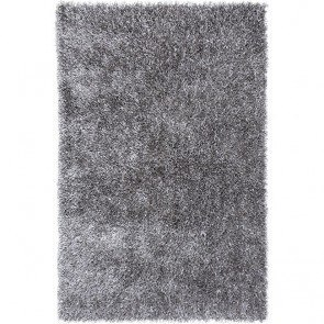 Flux FL02 Cool Gray Shag Rug