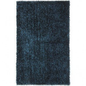 Flux FL03 Teal Blue Shag Rug