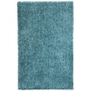 Flux FL07 Smoke Blue Shag Rug