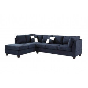 G630 Reversible Sectional (Navy Blue)