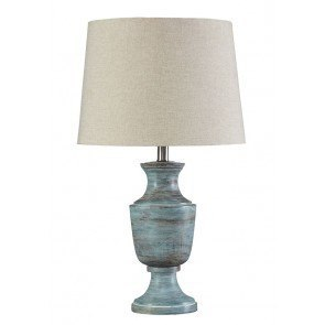Jehoram Wood Table Lamp