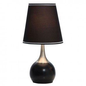 Leah Touch Table Lamp (Black)