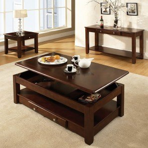 Nelson Occasional Table Set (Cherry)